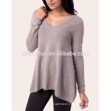 usine OEM service divers styles 100% tricot en cachemire pour les femmes