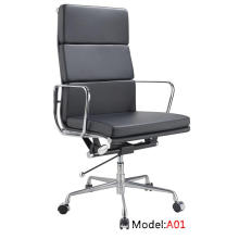 Современный офис Eames Ergonomic Leather Aluminum Leisure Manager Chair (A01)