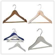 Wooden Baby Coat Hanger with Wooden Bar
