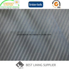 Fashion Twill Patterned Lining Fabric for Suit Jacket
