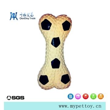 Latex Football Bone Pet Products Jouet pour animaux de compagnie
