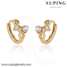 92794 Xuping nouvel été spécial boucle d'oreille plaqué or pour la fête