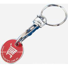 Metall-Token-Münze für Schlüsselring-Geschenk