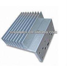 Revestimiento en polvo Extrusión de aluminio Radiador