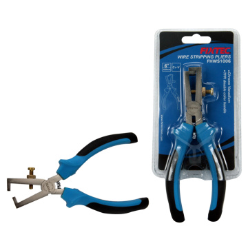 "FIXTEC 6"" chrome vanadium Wire stripping pliers"