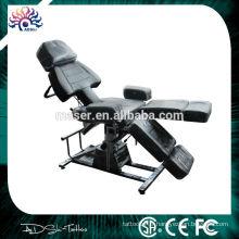 Chaise de tatouage au prix de gros, belle chaise de tatouage design, lit facial cosmétique hydraulique