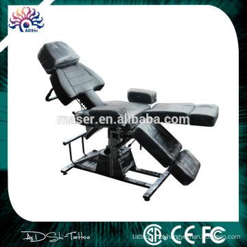Cadeira do tattoo do preço por atacado, cadeira bonita do tattoo do projeto, cama facial cosmética hidráulica
