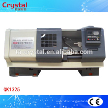 china cnc lathe machine, low cost heavy PVC pipe threading machine QK1325