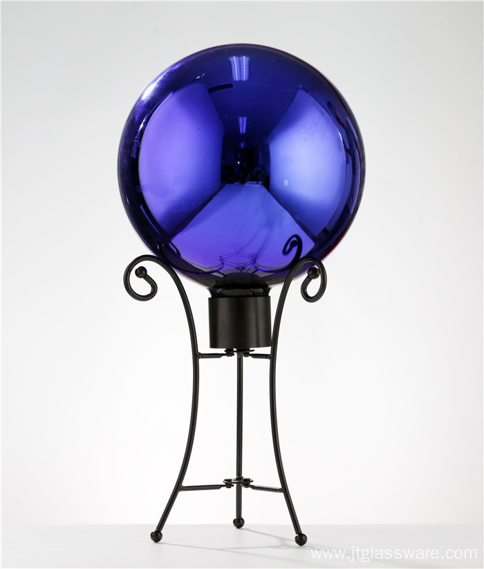 8 Inch Gazing Globe Mirror Ball in Blue