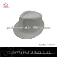 Chapéus de fedora baratos para homens chapéus de fedora branco chapéu de fedora