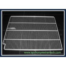 Kühlschrank-Edelstahl-Metall geschweißter Draht-Regal-Regal für Nahrungsmittelspeicher