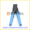 Coaxial Cable On F Connectors Compression Crimping Tool