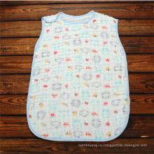 Супер мягкие детские Муслин пеленальный детские спальный мешок