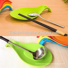 China Silicone manufacture FDA approved spoon stand