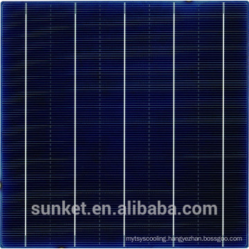 inexpensive silicon wafer for solar cell 6x6 and polycrystalline cell solar