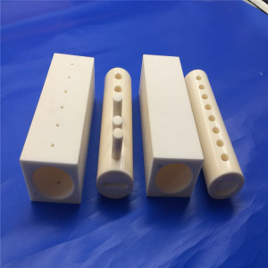 Yellow 99% Alumina Rotary Porous Piston Ceramic Valve