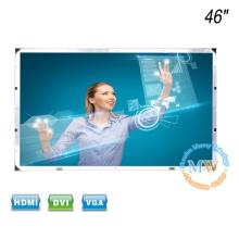 Pantalla táctil de marco abierto Monitor LCD de 46 pulgadas con entrada HDMI