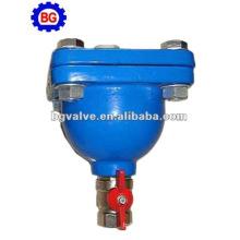 Rosca de válvula de aire de un solo orificio DN15-DN50