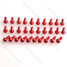 Hobbycarbon Fasteners Alta Precisão M3 Hex Botão Cabeça De Alumínio Parafuso / Parafuso