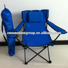 600D oxford fabric folding chair with comfortable pillow