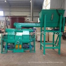 Biomasse Ernte Stroh Sägemehl Brikettiermaschine