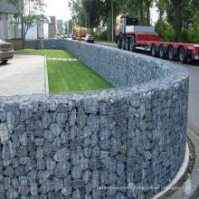 PVC coated Galvanized hexagonal woven wire mesh gabion price