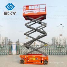 Ascenseur de ciseaux respecté / antenne plate-forme de travail Fabricant en Chine
