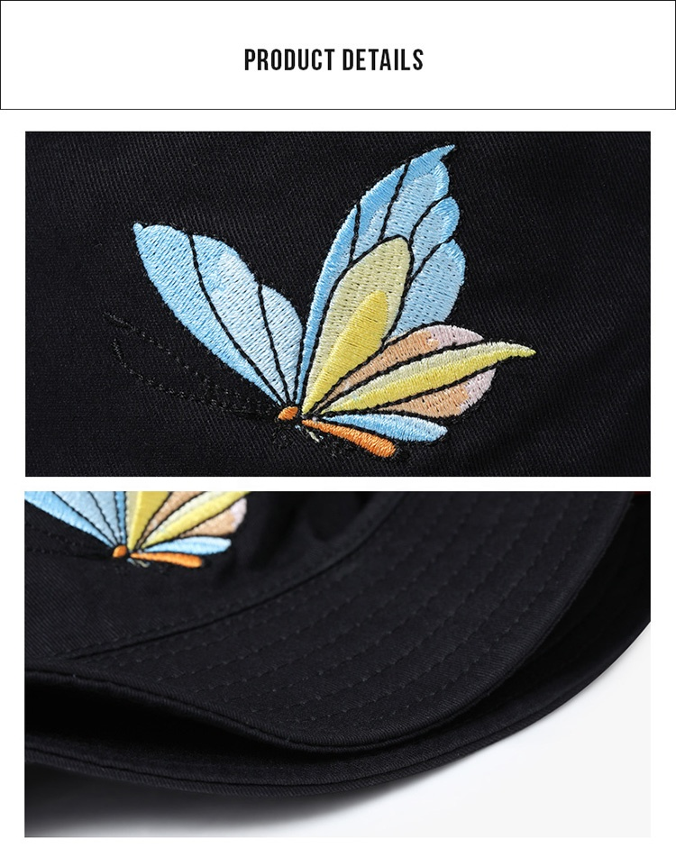 Design Your Own Black Custom Embroidered Cotton 5