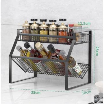 Stainless Steel Multifunctional Spice Rack