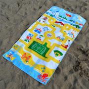 Anti sand cotton children beach towels