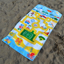 Serviettes de plage anti-sable coton enfants