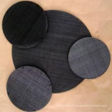 Tissu en fil de fer noir fabriqué en Chine