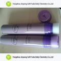 Tubo dobrável de alumínio e plástica embalagens de cosméticos para sapato óleo