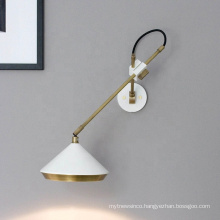 Modern Adjusted E27 antique loft industrial Wall Sconce lamps swing arm vintage wall lamp