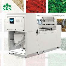 2016 venta caliente, mejor quailty y servicio, más estabilidad máquina de clasificación de color de pellets de plástico con mayor tecnología