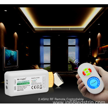 RF Brightness Adjusting LED Touching Remote Control System