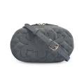 Кожаная сумка с поясом для женщин с длинной цепью Fanny