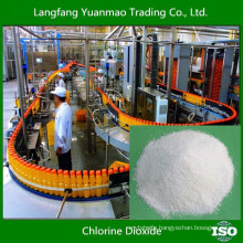 Food Grade Chlorine Dioxide Disinfectant for Food Processing
