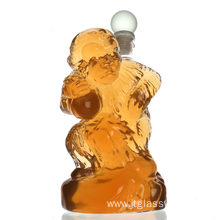Monkey  Free Crystal Liquor Decanter with Decanter