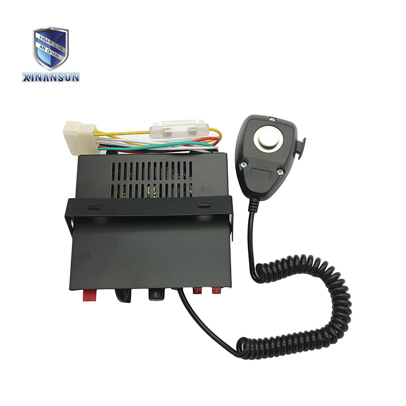vehicle electronic siren amplifier