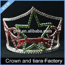 Corona barata de la tiara de la estrella de la reina para la venta