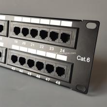 48-портовая домашняя патч-панель Ethernet RJ45