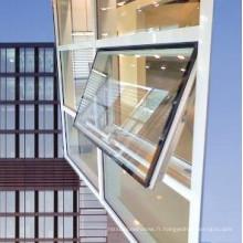 Fenêtre à guillotine en aluminium enduit de poudre