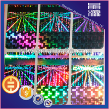 Rectangle Self-Adhesive Laser Hologram Label