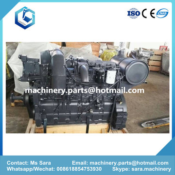 Assy do motor da máquina escavadora PC200-7 6D102