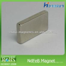 прямоугольные твердые неодимовый магнит/магниты F25x14x4mm