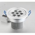 LED SY Downlight Power LED 7x1W