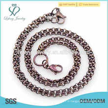 Collier en forme de perle spécial, bijoux en longue tenue pour hommes