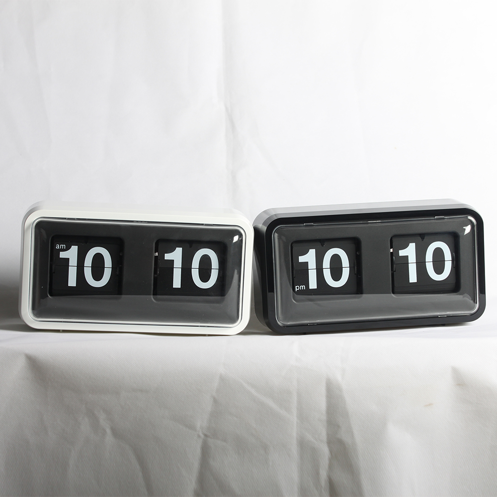 Clocks That Flip the Numbers