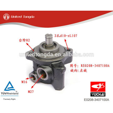 YUCHAI engine YC4E power steering pump E0208-3407100A